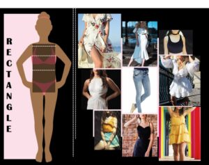HOW TO DRESS FOR YOUR BODY TYPE,RECTANGLE BODY TYPE