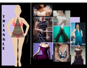 HOW TO DRESS FOR YOUR BODY TYPE, TRIANGLE BODY TYPE