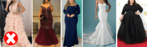 DRESSES FOR FAT GIRLS TO LOOK SLIM