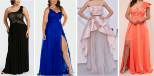 GOWNS FOR FAT GIRLS TO LOOK SLIM