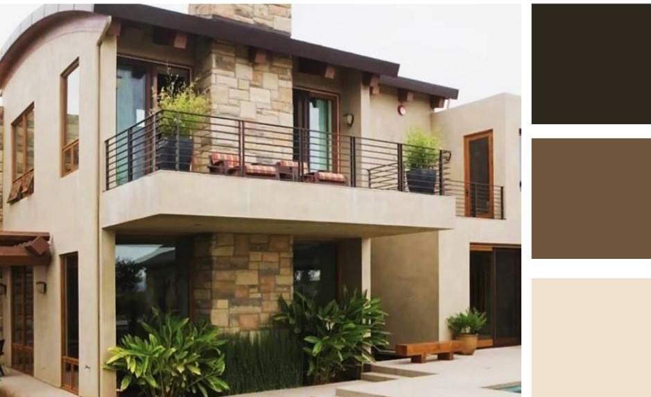 house exterior color combinations